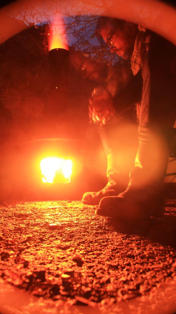 Kickin' tires and lightin' fires.